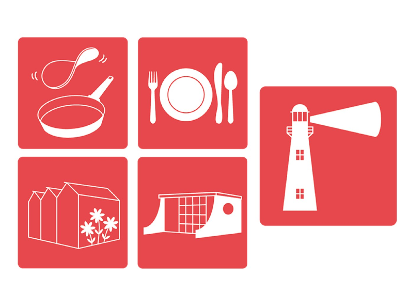 Het huisstijlpakket bevat twee verschillende logo's (Badzande en Vlugtenburg), briefpapier, enveloppen en visitekaartjes.