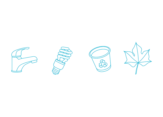 U kunt de iconen inzetten voor diverse uitingen, zoals stickers of handdoekenkaartjes